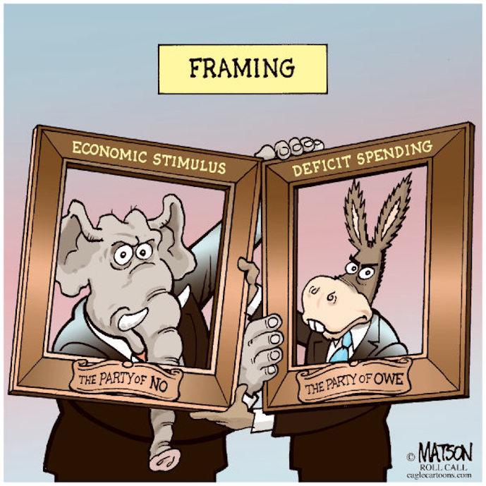 Framing the political debate